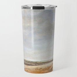 Salomon van Ruysdael Landscape with Cornfields Travel Mug