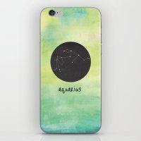 aquarius iPhone & iPod Skins featuring Aquarius by snaticky
