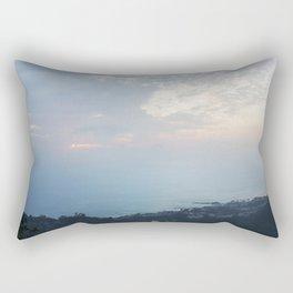 Blue Sunset over the Pacific Rectangular Pillow