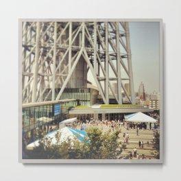 Tokyo Skytree Japan Metal Print