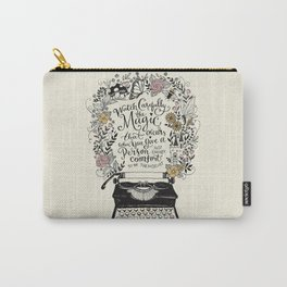 Magic Typewriter Typography Carry-All Pouch
