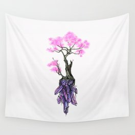 Cherry Crystals Wall Tapestry