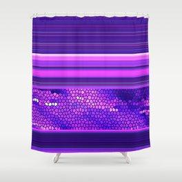 GRAPHIC POP 02 Shower Curtain