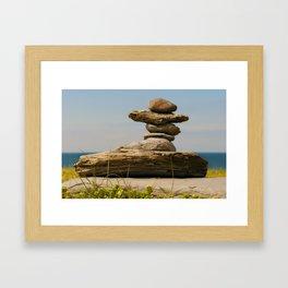 The Cairn Framed Art Print