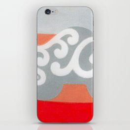 Riding like the King iPhone Skin