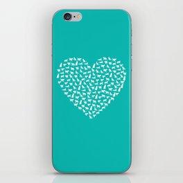 I Heart Cats iPhone Skin