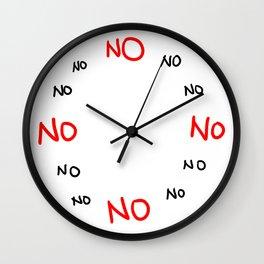 NOOOO! Wall Clock