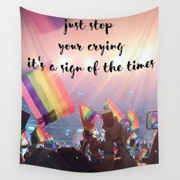 Harry Styles - rainbow flag Wall Tapestry