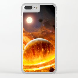 Big Bang XXL Clear iPhone Case