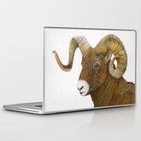 ram Laptop & iPad Skins featuring Ram by Jan Elizabeth