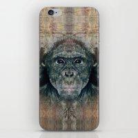 monkey iPhone & iPod Skins featuring Monkey by Zandonai