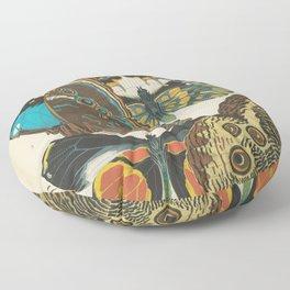 E.A.Séguy - Papillons / Butterflies (1925) Plate 2 Floor Pillow