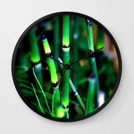 The Scouring Rush Wall Clock