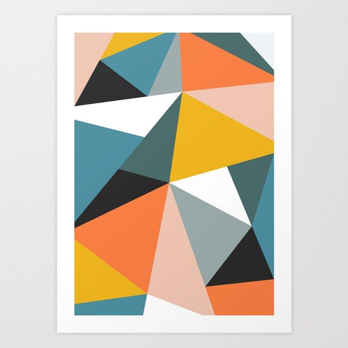 Modern Geometric 36 Art Print