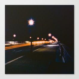 Memorial Bridge Long Exposure Canvas Print