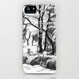 Untitled 8 iPhone Case