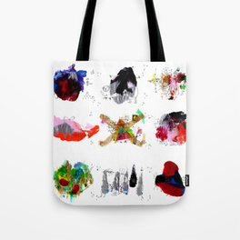 9 abstract rituals Tote Bag