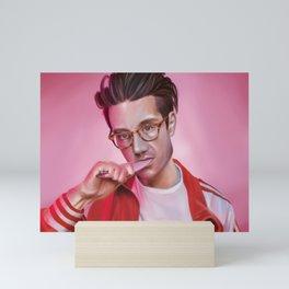 Dan Smith - Rose-Colored Boy Mini Art Print