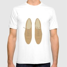 Brogues MEDIUM Mens Fitted Tee White