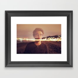 See through Framed Art Print