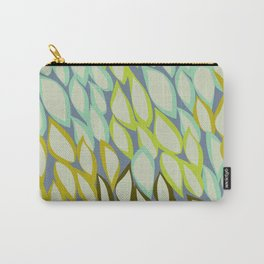 Falling into Blue Leaves Carry-All Pouch