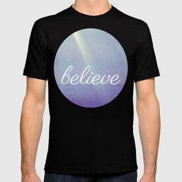 Believe {Purple Version} T-shirt