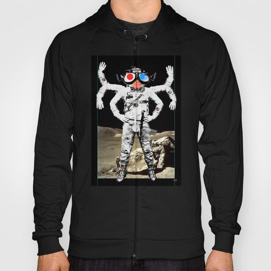 Space Lord Collage 2 Hoody