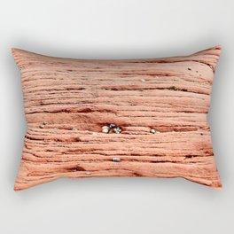 Life in the Cracks Rectangular Pillow