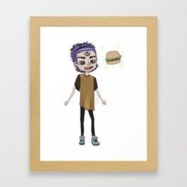 BRGR-BOY Framed Art Print