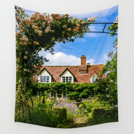 Cottage garden. v2 Wall Tapestry