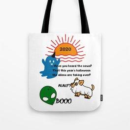 Halloween Fun Chat Tote Bag