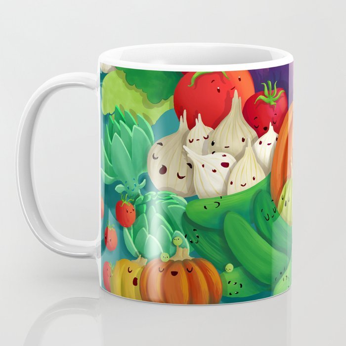 Nice People Eat Vegetables - background (Made with Danny Ivan) Coffee Mug