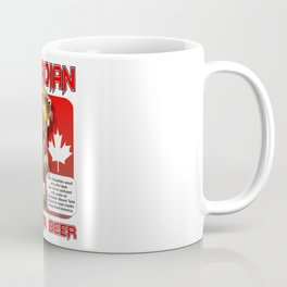 Canadian Beaver Beer Coffee Mug