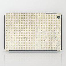 gOld squares iPad Case