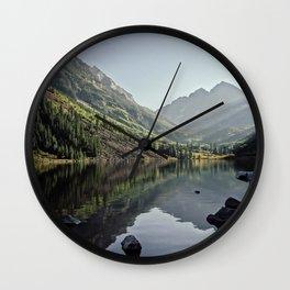 Maroon Bells 2 Wall Clock