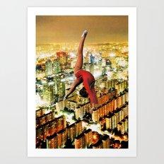 ballarina Art Print