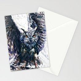 Owl wild & free Stationery Cards