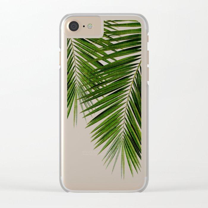 Palm Leaf II Clear iPhone Case