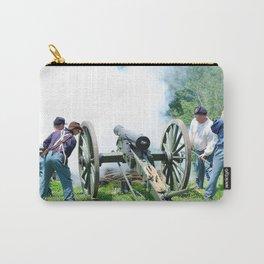 Civil War era canon fire Carry-All Pouch