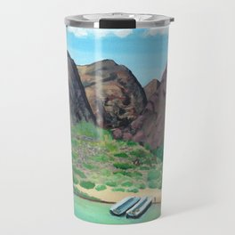 Grand Canyon Rafting Travel Mug