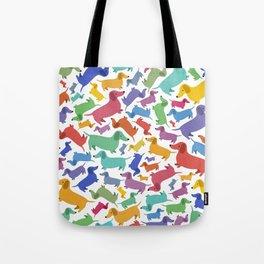 Hotdog Party Tote Bag