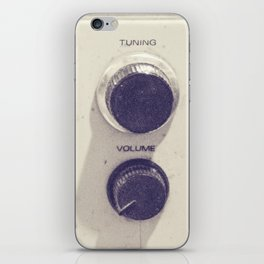 "on the radio... ""ANALOG zine""  iPhone Skin"