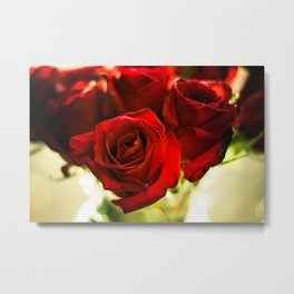 I Punched The Flowers You Gave Me, And Now I'm Sending Them Back Metal Print