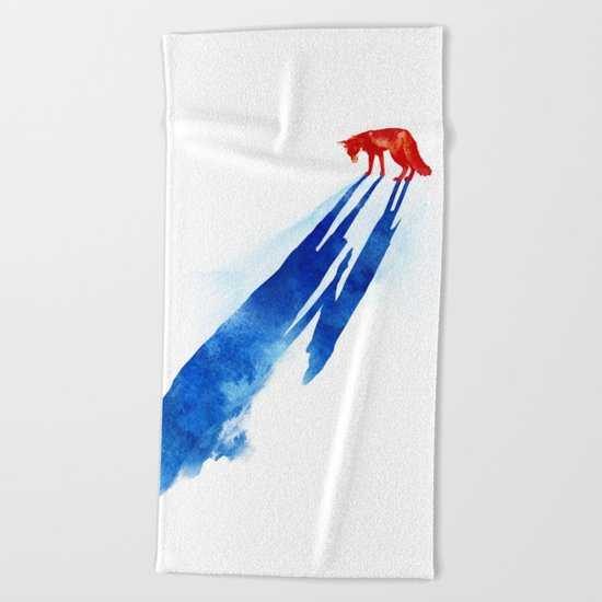 A distant memory Beach Towel