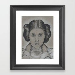 Leia Organa Framed Art Print