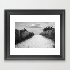 Path to Happiness Framed Art Print