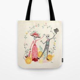 La Catrina y el Catrín Tote Bag