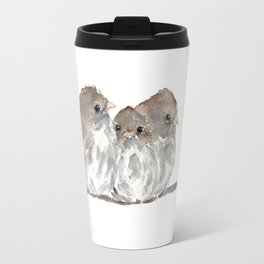 Cuddling birds Travel Mug