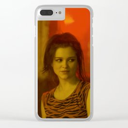 Sophie Cookson - Celebrity (Photographic Art) Clear iPhone Case