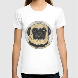 Azor Pug by Henri-Charles Guérard T-shirt